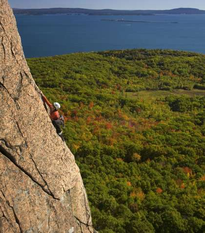 Mountain Guides Hiking Climbing Acadia National Park Maine