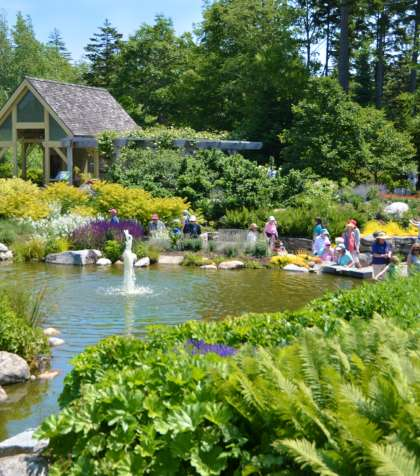 Coastal Maine Botanical Gardens Boothbay Harbor Maine MidCoast & Islands