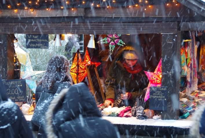 Julemarkedet utstiller Midtbyen