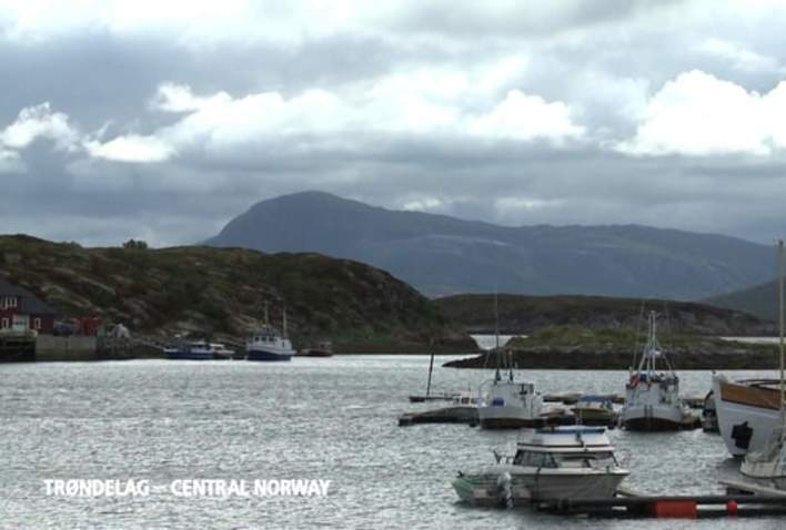 Deep-sea fishing at the coast of Trøndelag