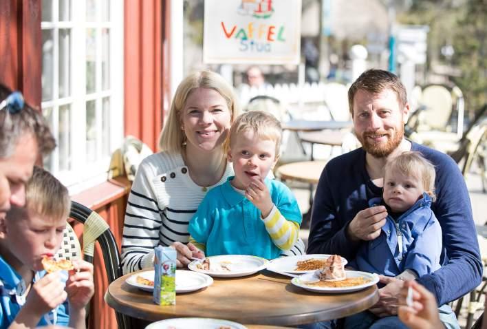 Familiekos på Vaffelstua i Dyreparken