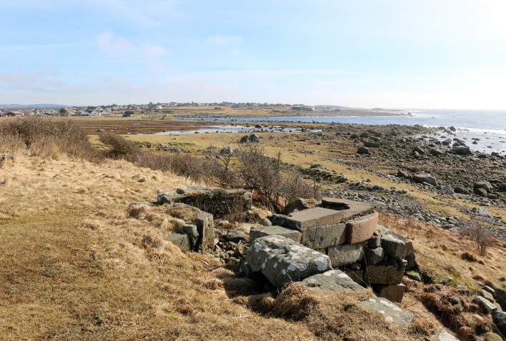 Beach at Lista Lighthouse in Southern Norway