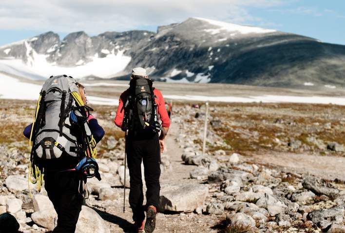 Toppen av Snøhetta på Dovrefjell