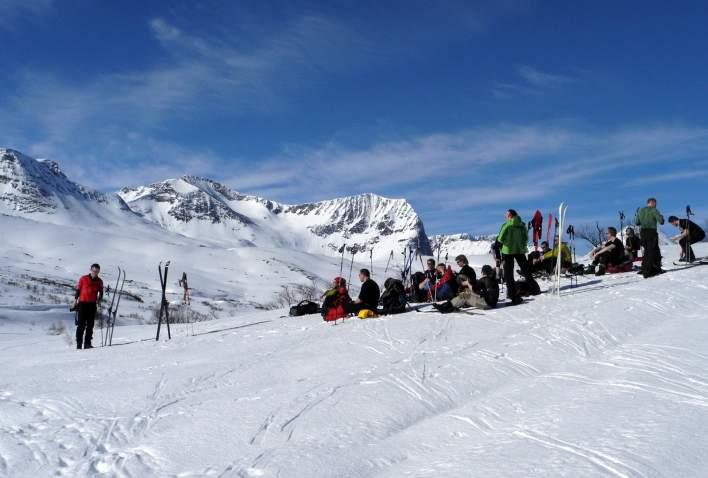 På ski til Tovatna