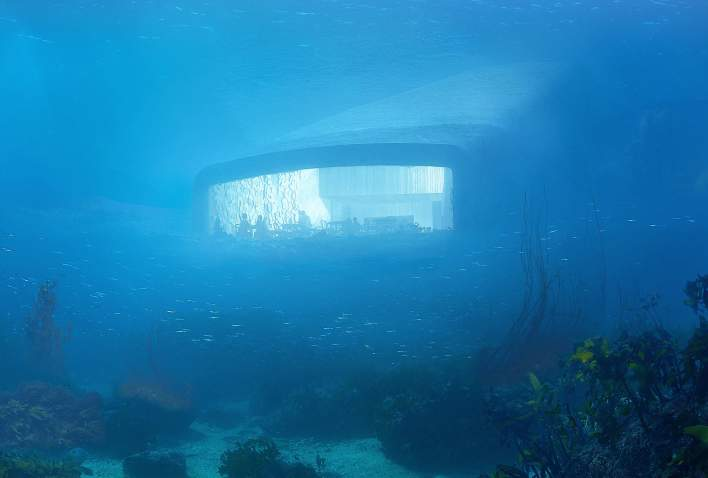 underwater restaurant disney world. Under Underwater Restaurant In Lindesnes Southern Norway Disney World