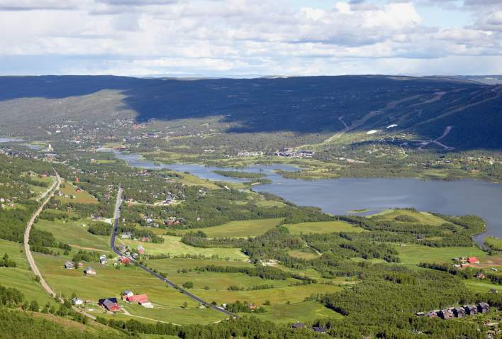 Ustedalen Valley in Geilo