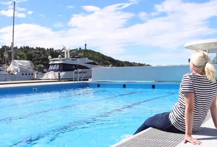 Arendal gjestehavn svømmebasseng