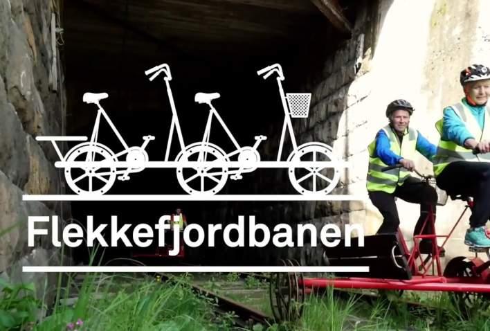 Dresinsykling på Flekkefjordbanen