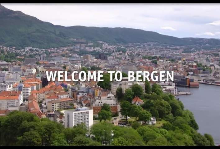 how to get to bergen city from airport
