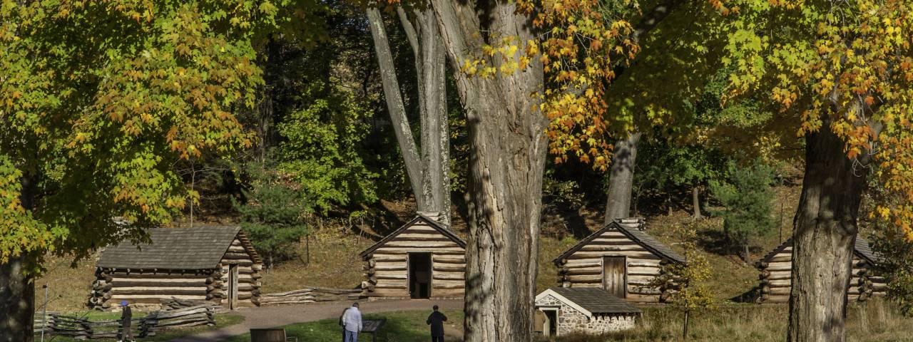 Washington's Guard Huts