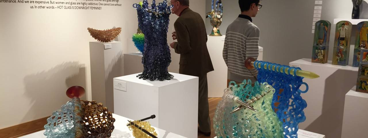 Wayne Art Center Women in Glass Exhibit