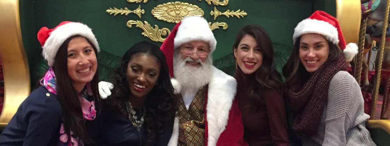 King of Prussia Mall Santa