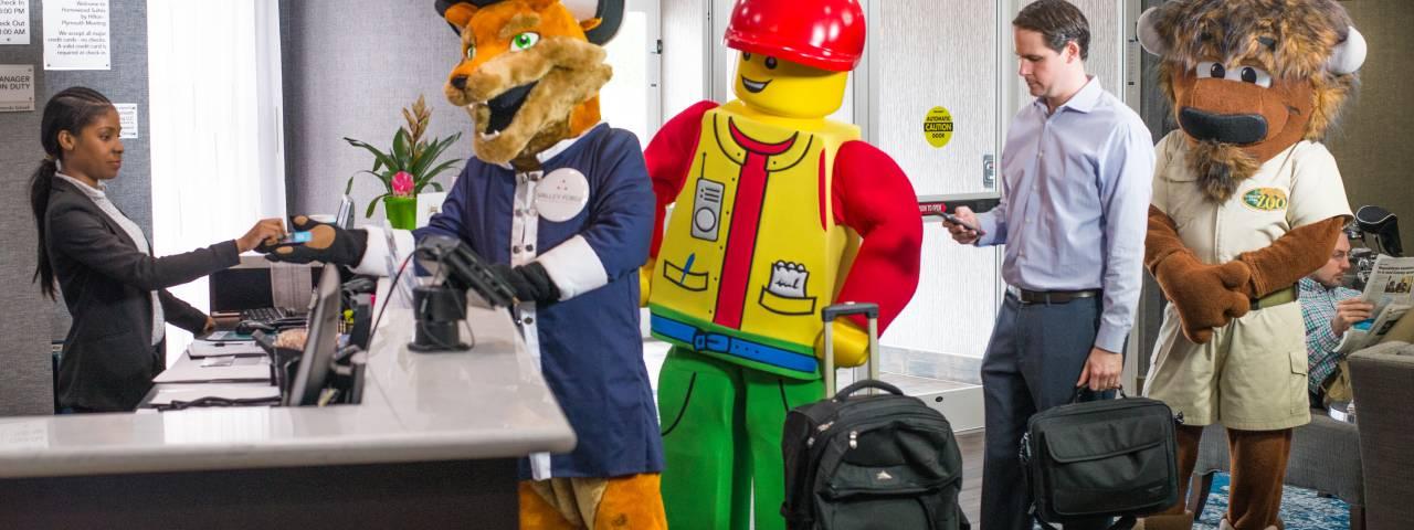 Mascots Summer Campaign