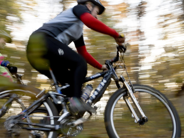 Mountain Biking in Fall