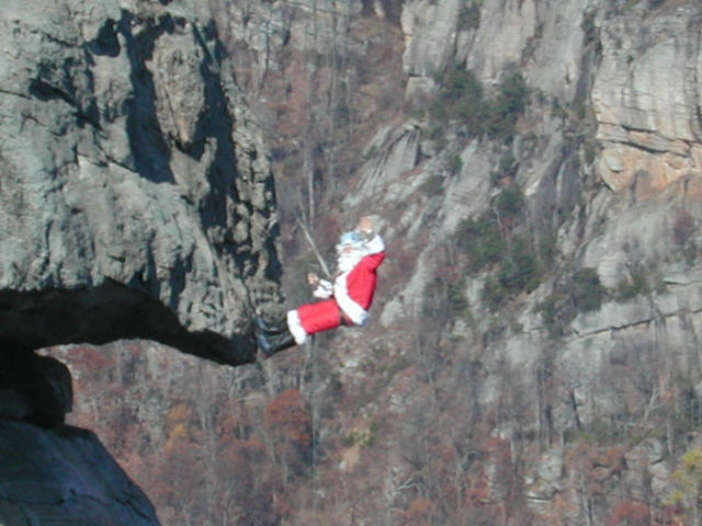 Santa Climbing Crp Large