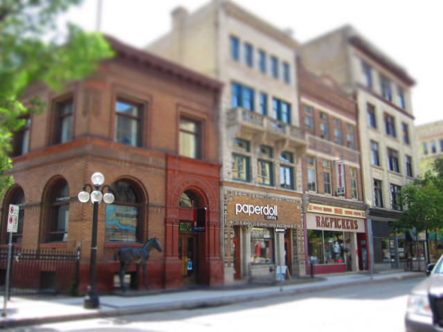 Travel through Time in Winnipeg's Exchange District