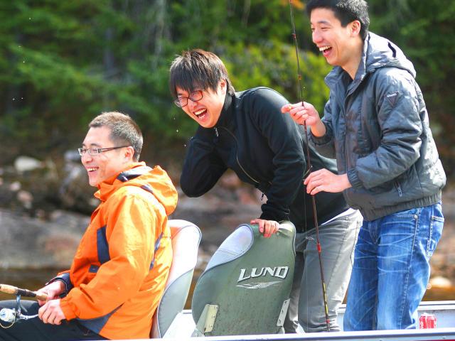 Best Friends, Fly-in Fishing Adventure