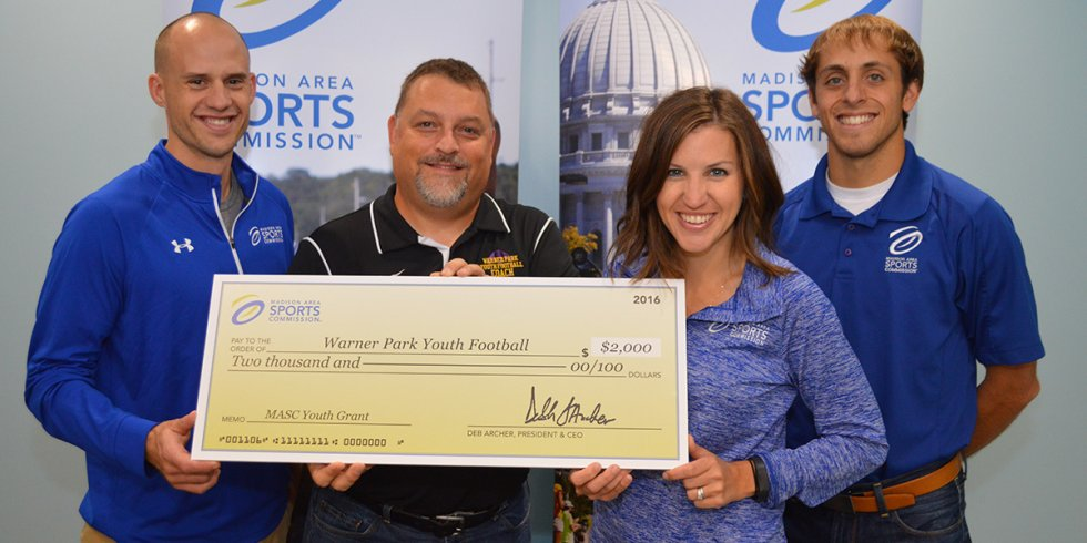 MASC Youth Grant 2016 Winner: Warner Park Youth Football