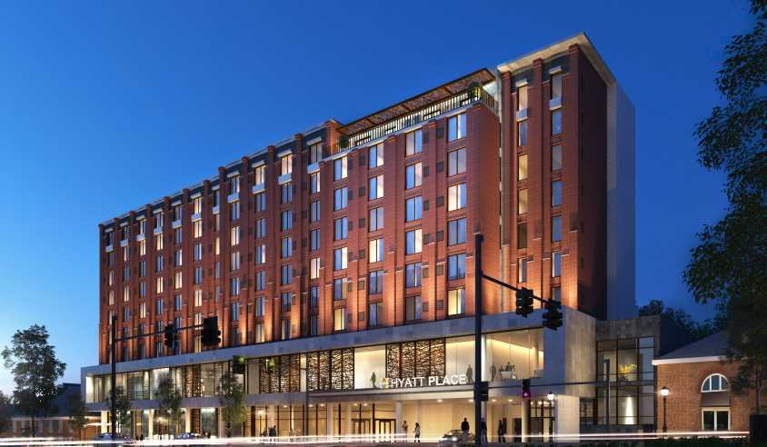 Athens Georgia Is Set To Add 192 Hotel Rooms Connected The Clic Center Downtown S Convention And Performing Arts E With Opening Of A