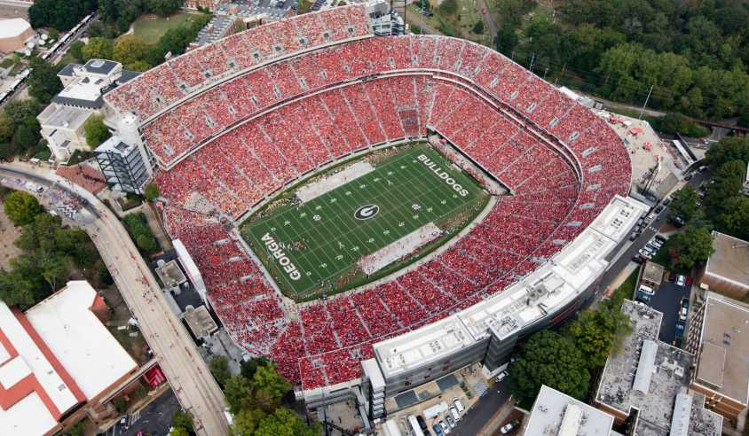 Free Bridge Auto Sales >> Top 10+ Places to Watch a UGA Football Game in Athens