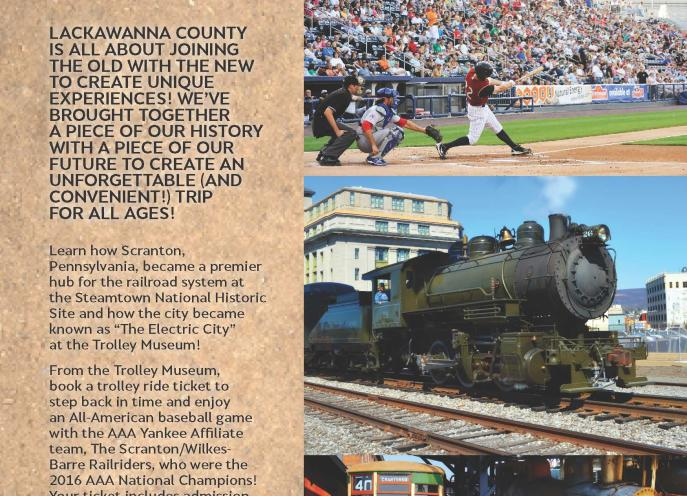 Americana Itinerary of things to do in Lackawanna County, PA.