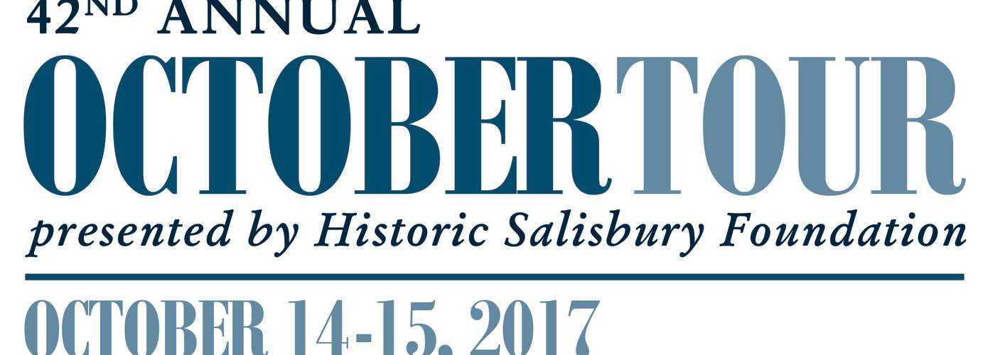Logo for the 42nd October Tour by Historic Salisbury Foundation