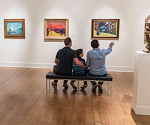 Family Enjoying Gallery