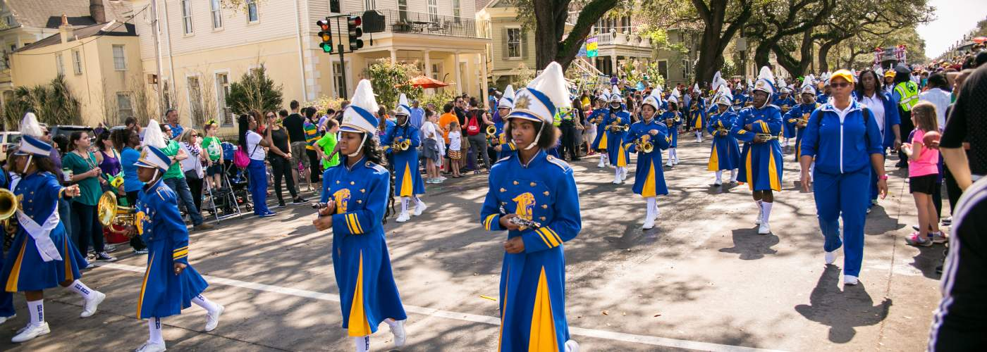 Krewe of Femme Fatale- Marching Band