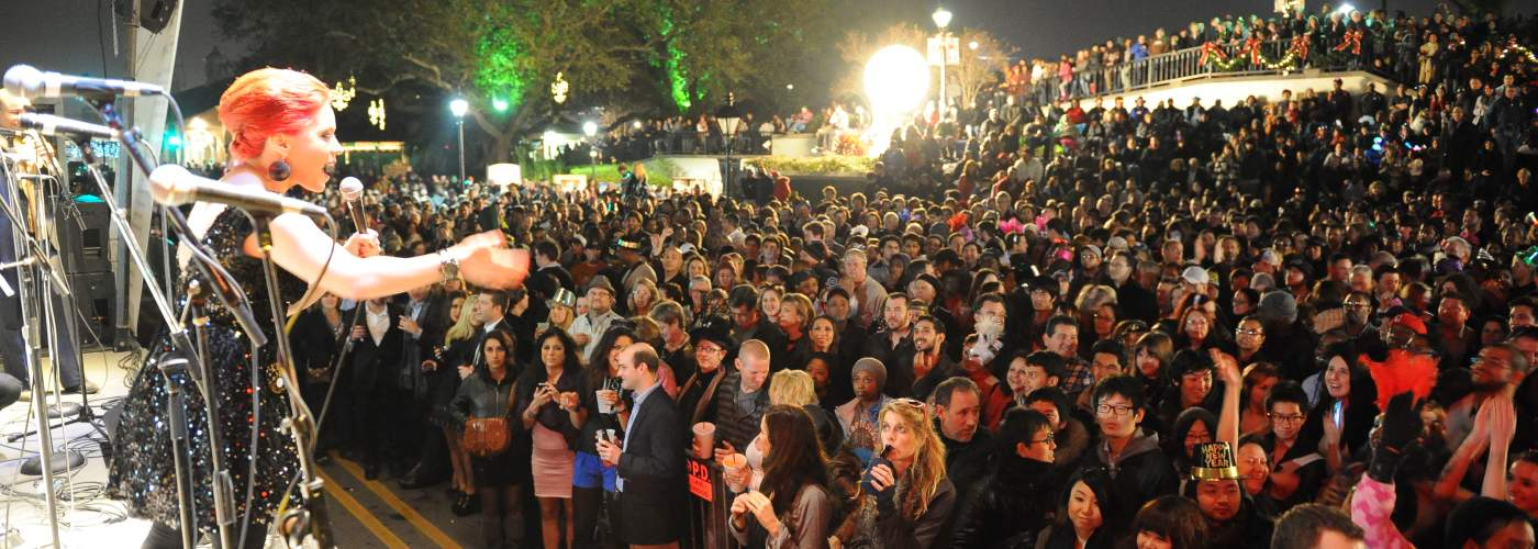 New Year's Eve Concert in Jackson Square
