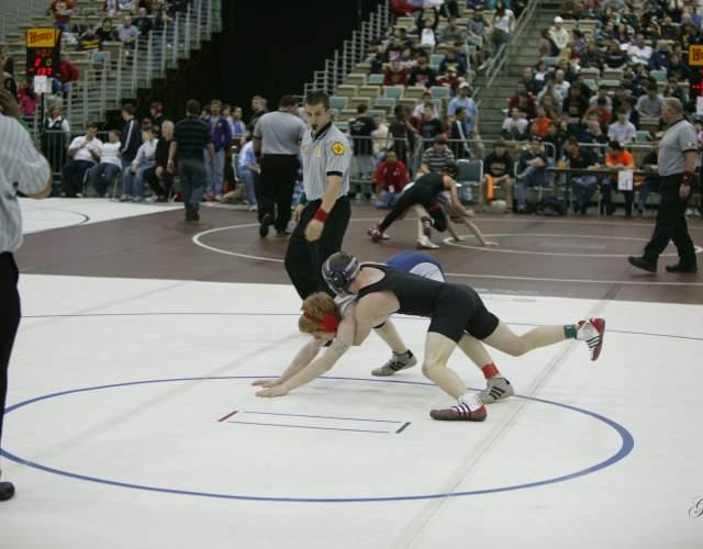 Wrestling at Pontchartrain Center