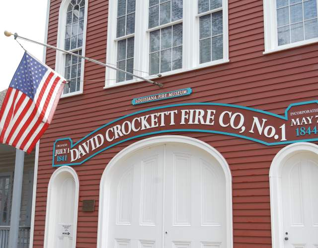 David Crocket Firehoue, Gretna
