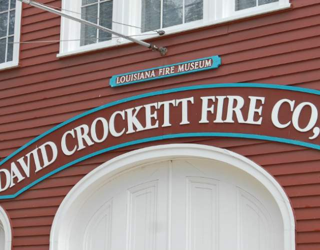 David Crocket Firehouse