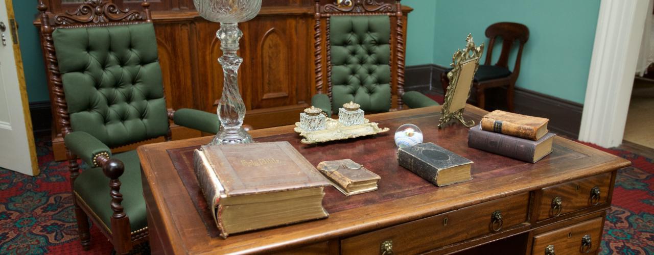 woodrow wilson house study
