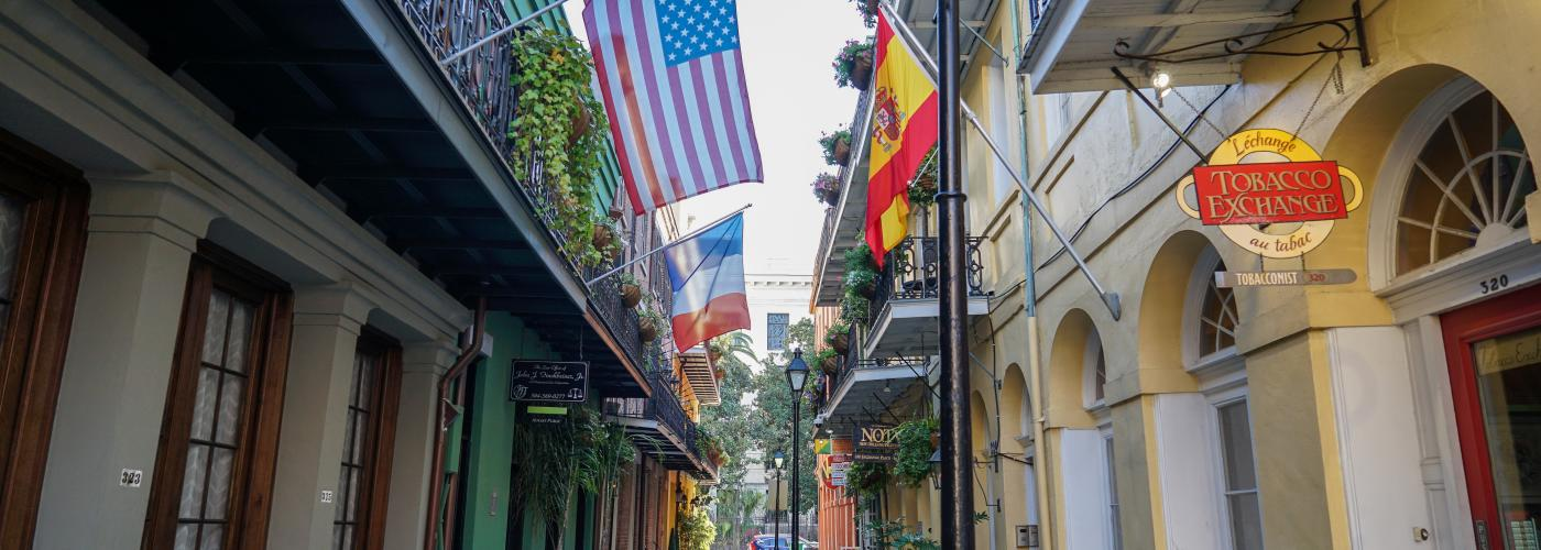 alley, french quarter