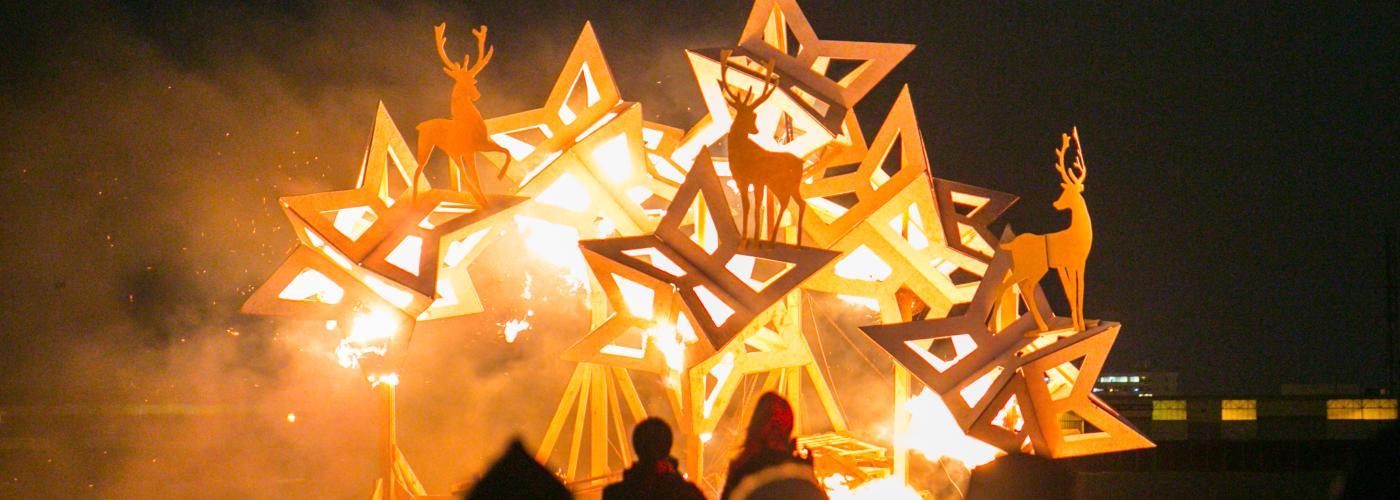 Algiers Point Bonfire and Concert
