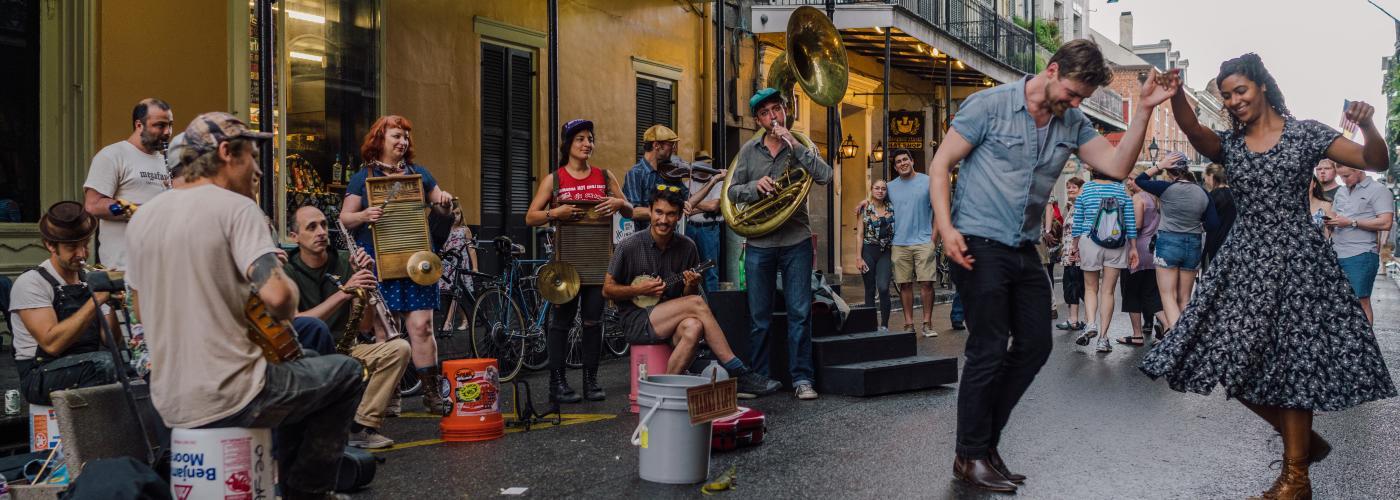 Big Dixie Swingers - Royal Street - French Quarter