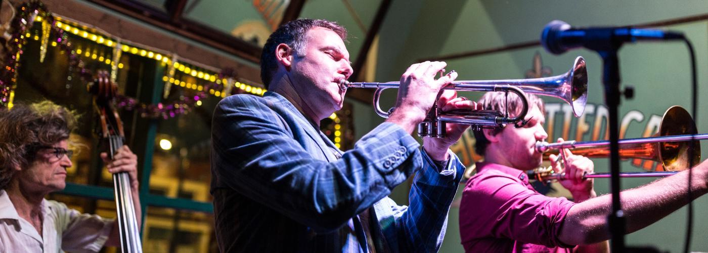 Jumbo Shrimp Jazz Band at Spotted Cat