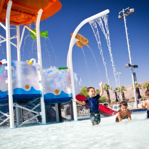 palm desert aquatic center splash playground pool
