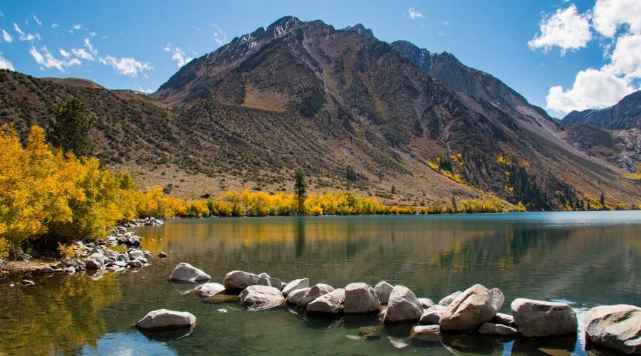 Convict Lake Fall Colors