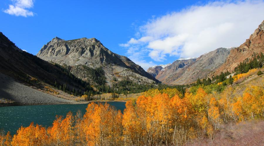 Lundy Lake Fall Colors