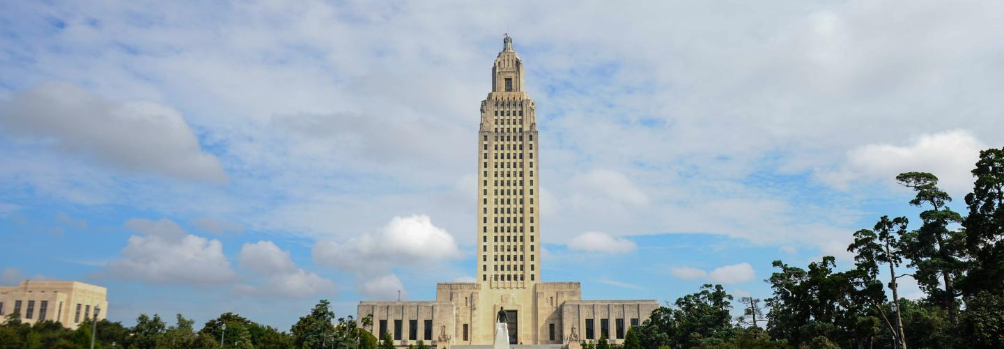 Image of the new State Capitol building