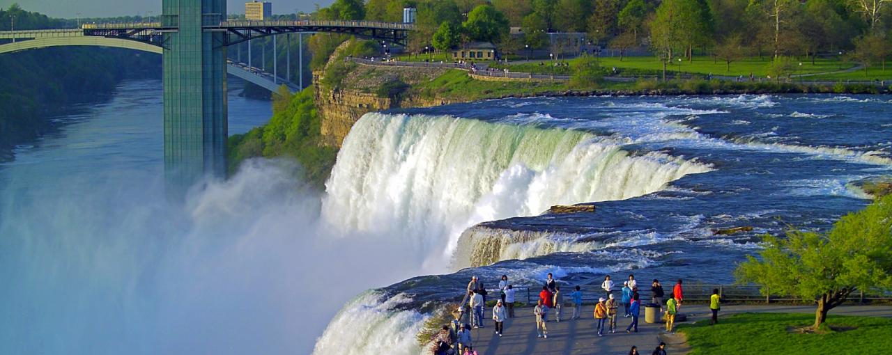 Niagara Falls State Park - Photo by NYS ESD