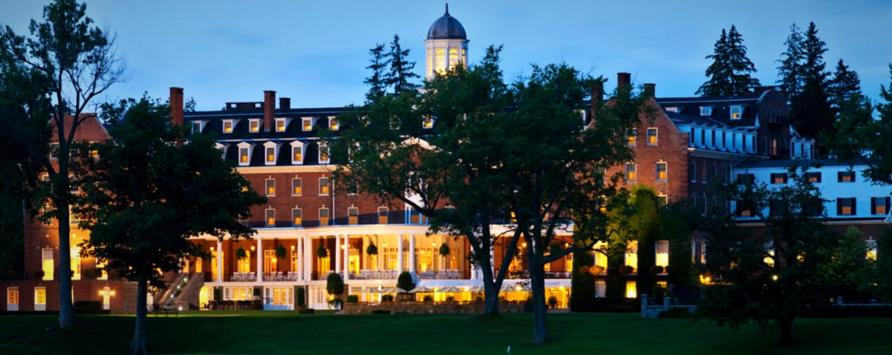the otesaga resort hotel - cooperstown