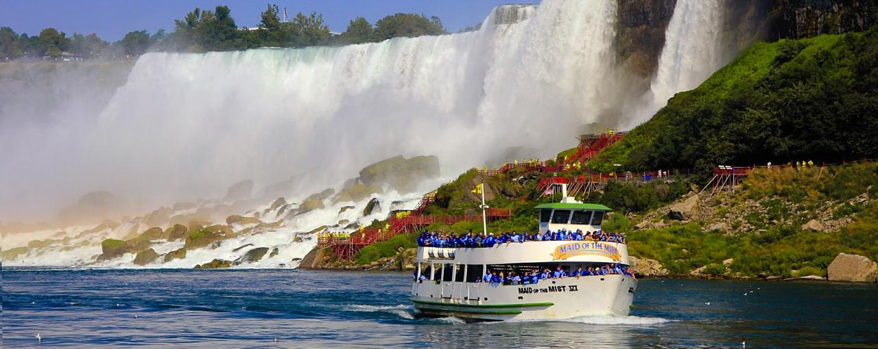 Maid of the Mist - Photo Courtesy Niagara USA  Tourism & Convention