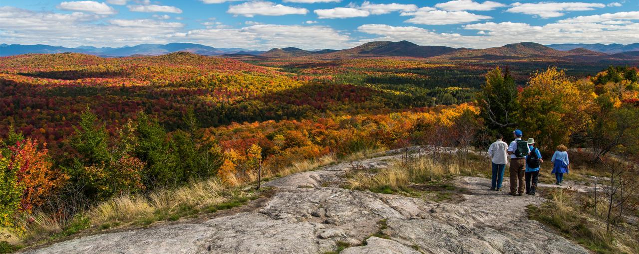 Hiking in New York  Appalachian Trail Adirondacks