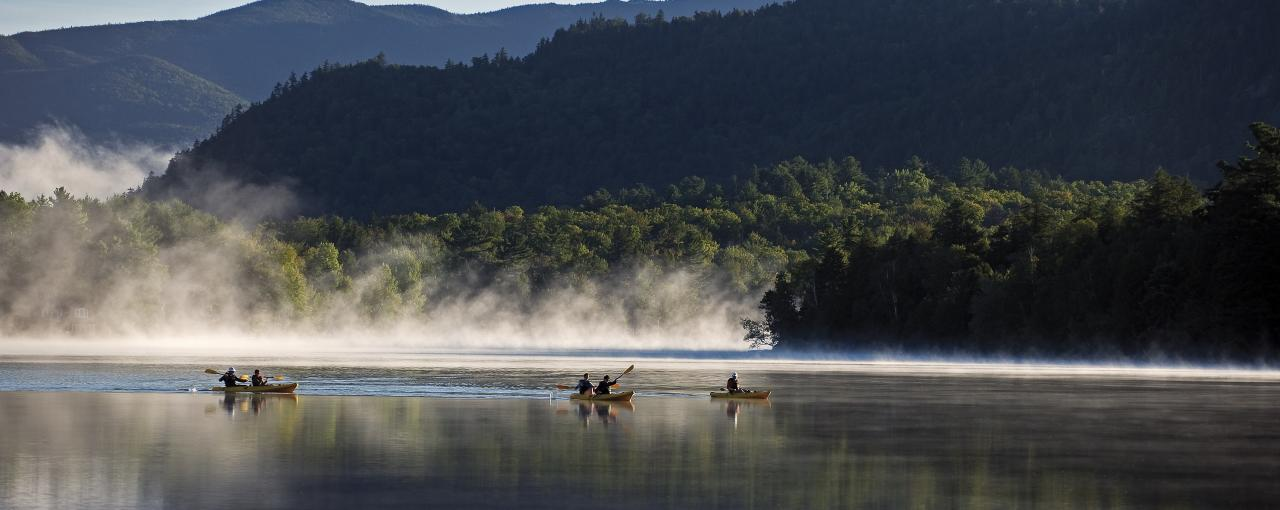 Mirror Lake - Whiteface Mountain - Photo by NYS ESD