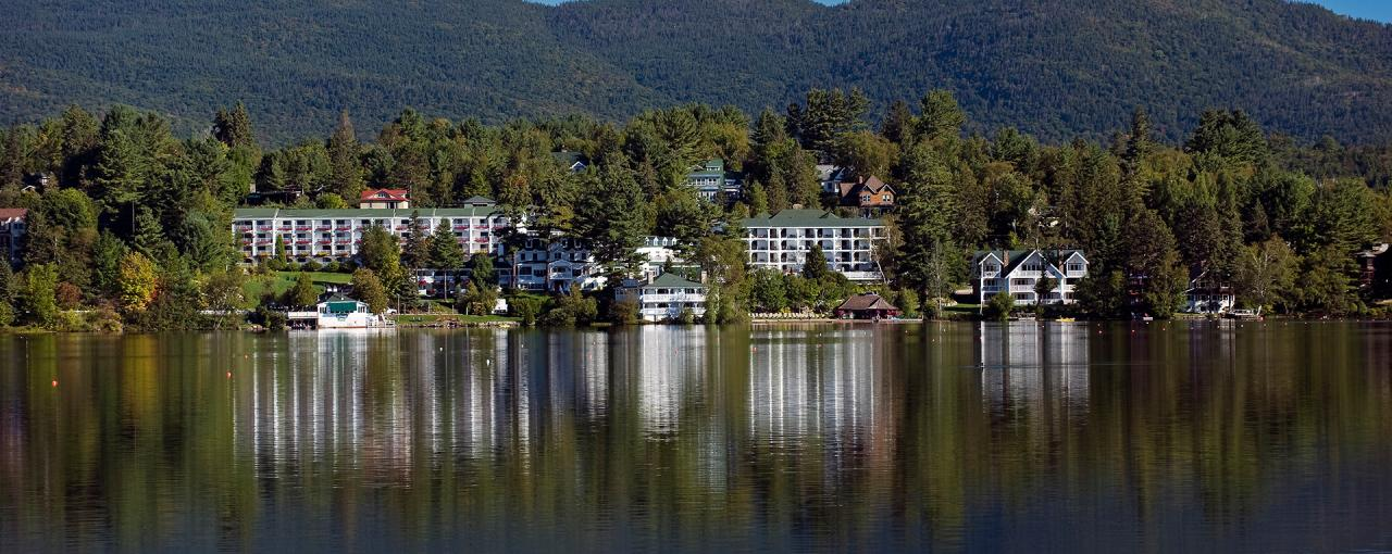 Mirror Lake Inn, Lake Placid - Photo by NYS ESD