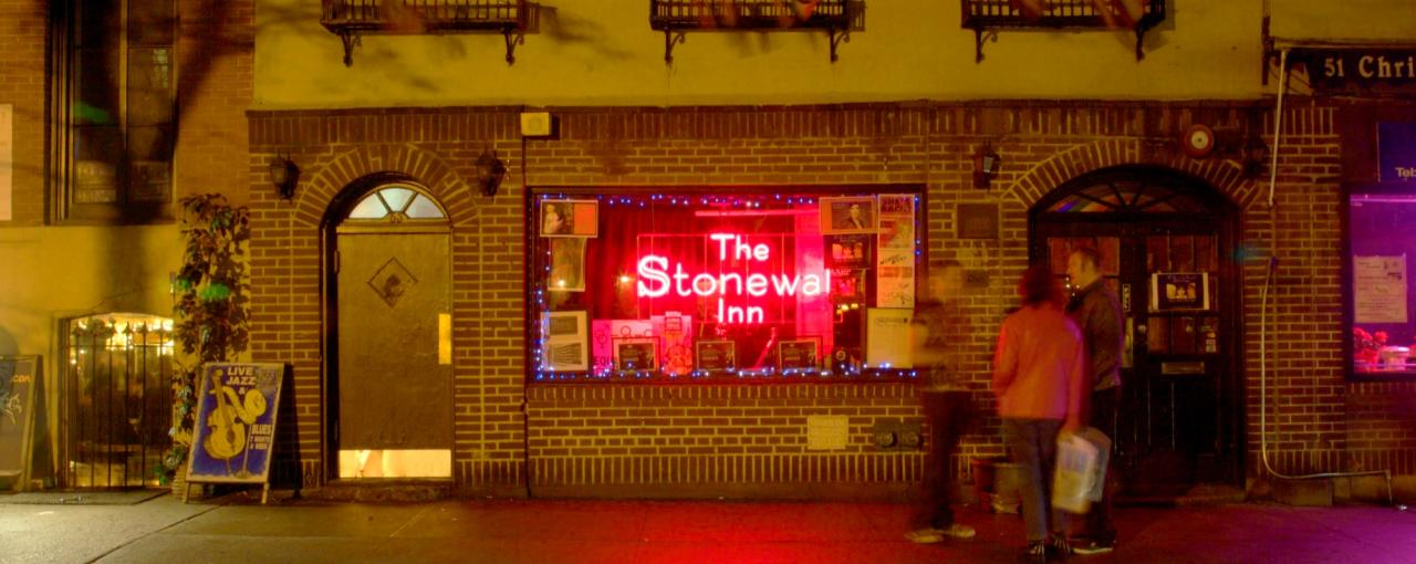 Stonewall Inn _ Photo by Malcolm Brown - Courtesy of NYC & Co