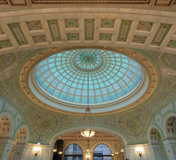 Chicago Cultural Center Dome