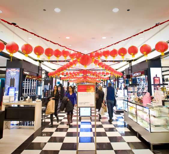 Bloomingdale's North Michigan Avenue Celebrates Lunar New Year